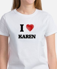 I Love Karen T-Shirt