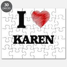 I Love Karen Puzzle
