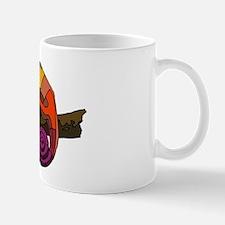 Rainbow Chameleon Mug