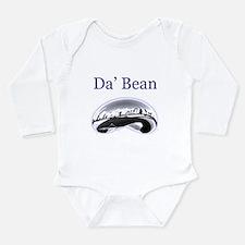 Cute Bean Long Sleeve Infant Bodysuit
