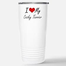 I love my Cesky Terrier Stainless Steel Travel Mug