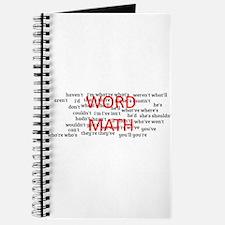 word math Journal