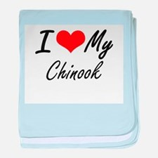 I love my Chinook baby blanket