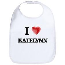 I Love Katelynn Bib