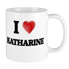 I Love Katharine Mugs
