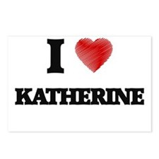 I Love Katherine Postcards (Package of 8)