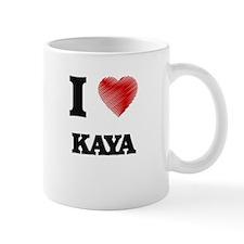 I Love Kaya Mugs