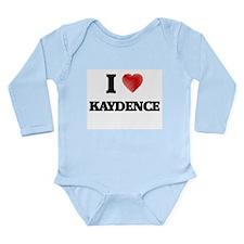 I Love Kaydence Body Suit