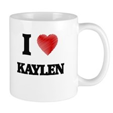 I Love Kaylen Mugs
