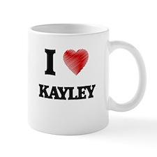 I Love Kayley Mugs