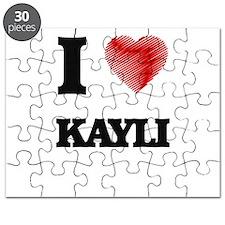 I Love Kayli Puzzle