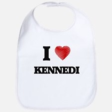 I Love Kennedi Bib