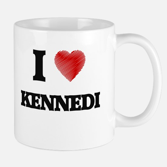 I Love Kennedi Mugs