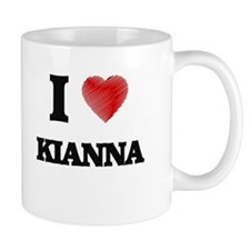 I Love Kianna Mugs