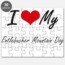 I love my Entlebucher Mountain Dog Puzzle