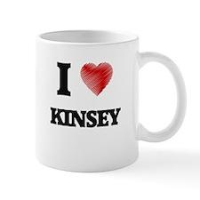 I Love Kinsey Mugs