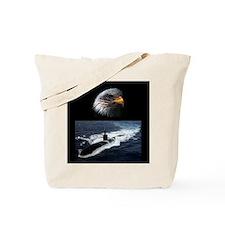 Cute Navy nuke Tote Bag