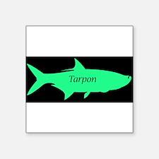 """Cute Marlin fish Square Sticker 3"""" x 3"""""""