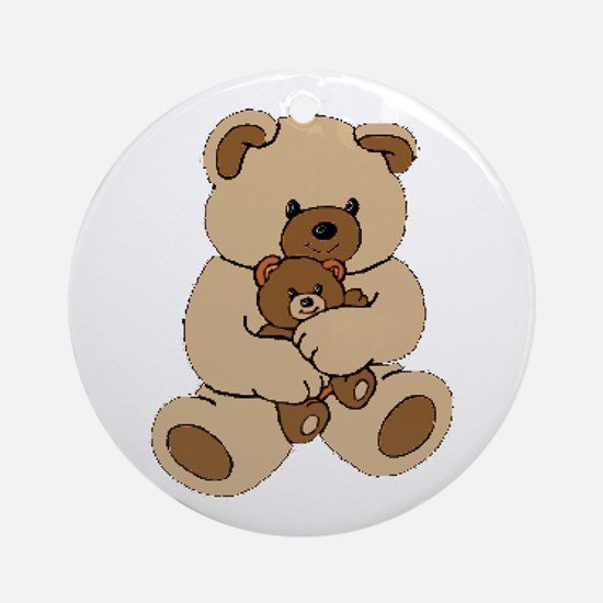 Teddy Bear Buddies Ornament (Round)