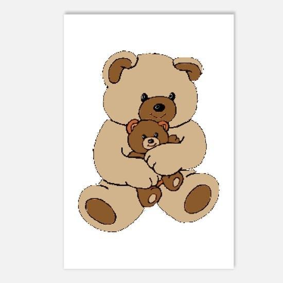 Teddy Bear Buddies Postcards (Package of 8)