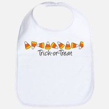 Trick-Or-Treat (Candy Corn) Bib