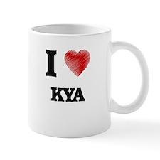 I Love Kya Mugs