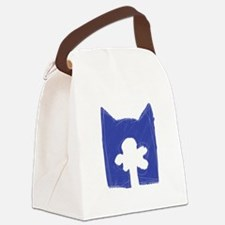 Skyclan BLUE Canvas Lunch Bag