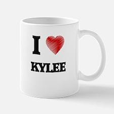 I Love Kylee Mugs