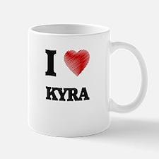I Love Kyra Mugs