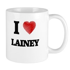 I Love Lainey Mugs