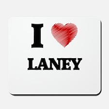 I Love Laney Mousepad