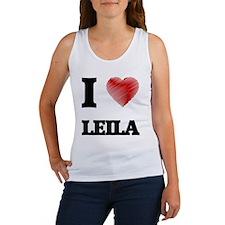 I Love Leila Tank Top