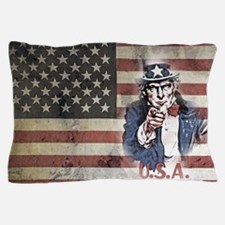 Cute Stars and stripes Pillow Case