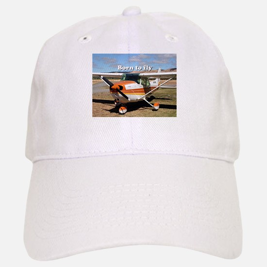Born to fly: high wing aircraft Baseball Baseball Cap