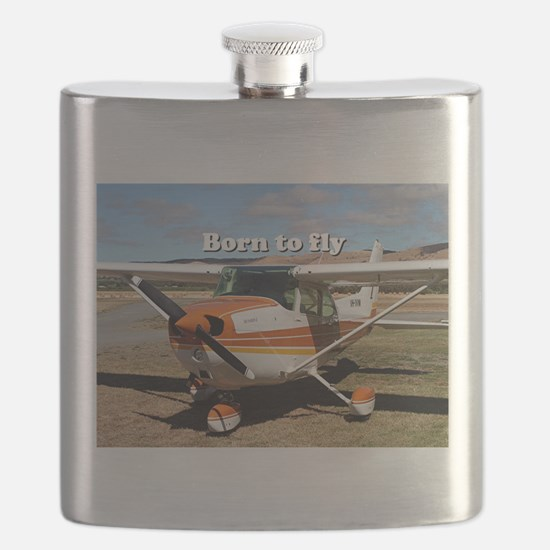 Born to fly: high wing aircraft Flask