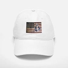 US Flag and Uncle Sam Baseball Baseball Cap