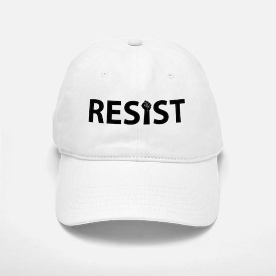 Resist With Fist Baseball Baseball Cap