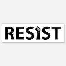 Resist With Fist Bumper Bumper Stickers