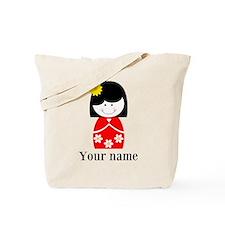 Girl (p) Tote Bag