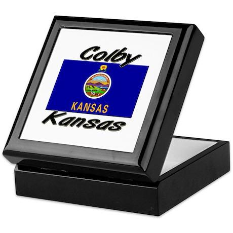 Colby Kansas Keepsake Box
