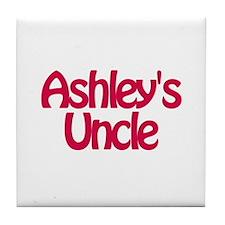 Ashley's Uncle Tile Coaster