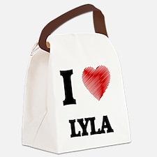 Cool Lyla Canvas Lunch Bag
