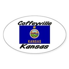 Coffeyville Kansas Oval Decal