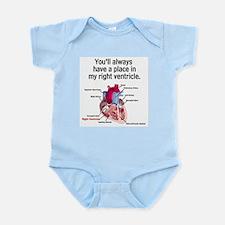 Unique Medical humor Infant Bodysuit