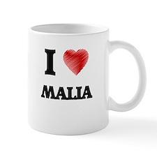 I Love Malia Mugs