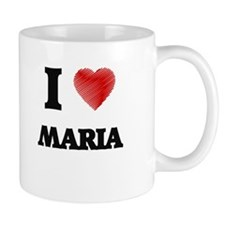 I Love Maria Mugs