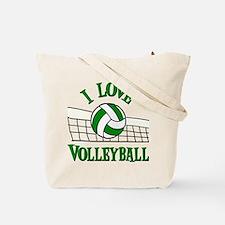 I LOVE VB (both sides) Tote Bag