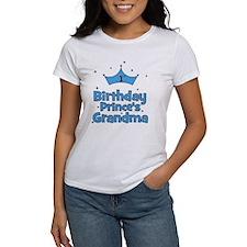 1st Birthday Prince's Grandma Tee