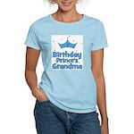 1st Birthday Prince's Grandma Women's Light T-Shir