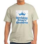 1st Birthday Prince's Grandma Light T-Shirt